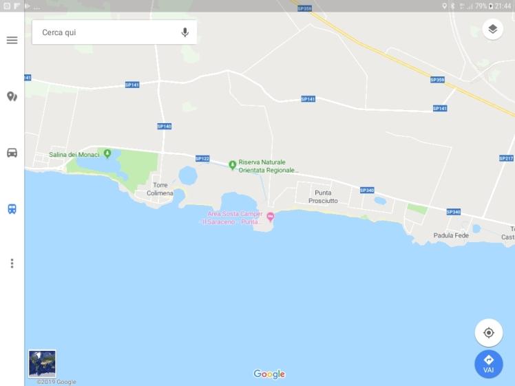 Screenshot Punta Prosciutto